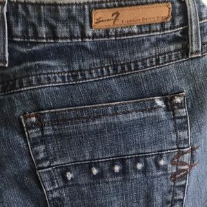 7 premium denim jeans-great condition